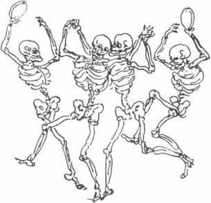 Rowlandson The English Dance of Death